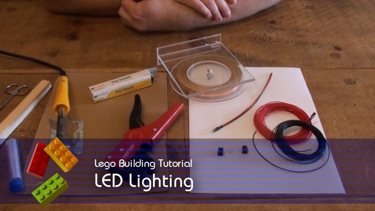 Lego Tutorial - LED Lighting