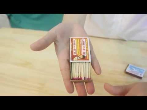 Hướng dẫn làm ảo thuật : Dụ dỗ bao diêm