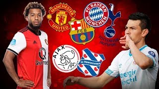 Top 10 Eredivisie players ready for big summer transfers 2019