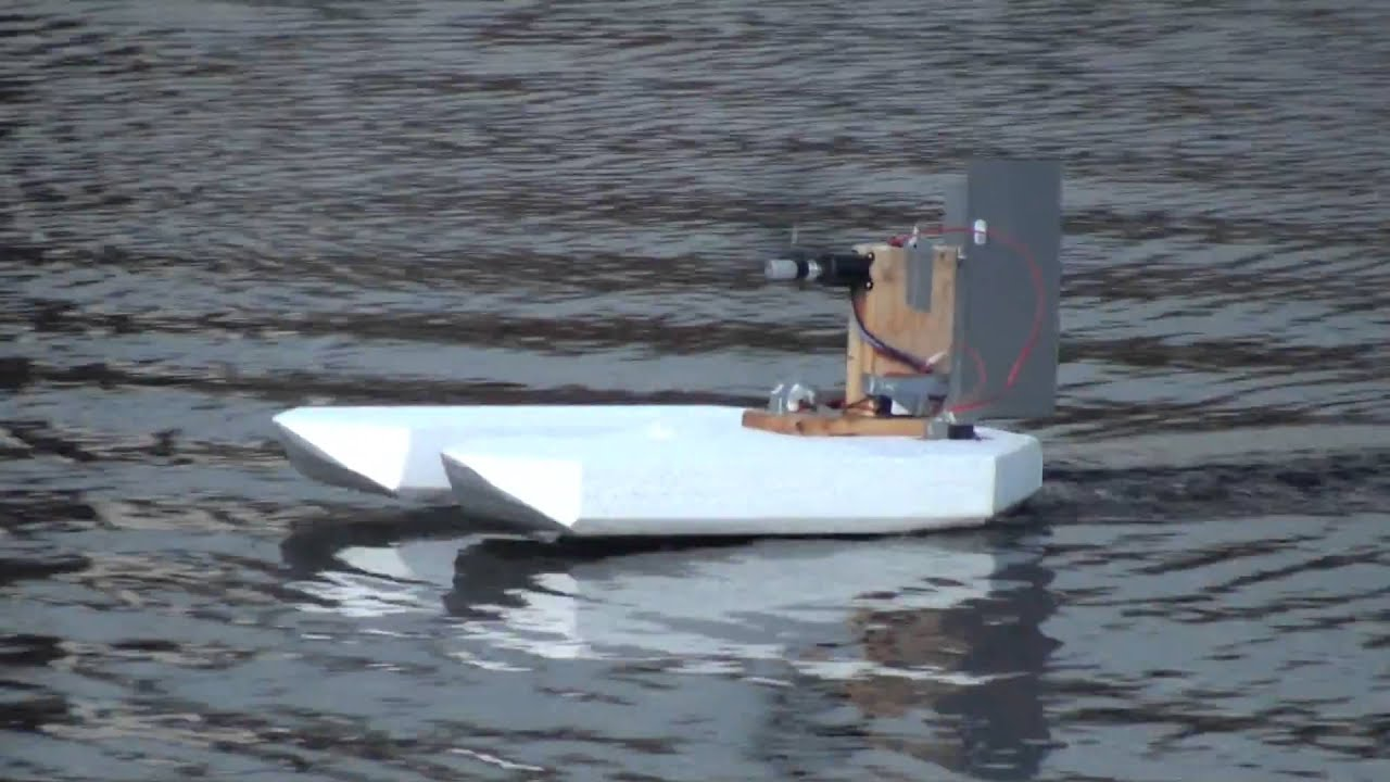 rc air boat - YouTube