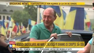 Traian Băsescu, despre ordonanţa ce majorează salariile demnitarilor