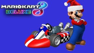 A Christmas Miracle! (Mario Kart 8 Deluxe Funny Moments)