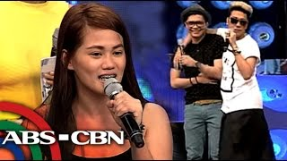 Awkward! Vhong meets contestant named Denise