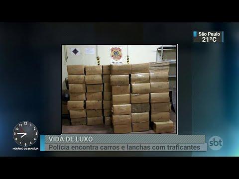 Polícias de SP fazem operação contra maior facção criminosa do país | SBT Brasil (25/06/18)