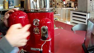 Machine à expresso manuelle Kitchen Aid 5KES2102EER Rouge Artisan