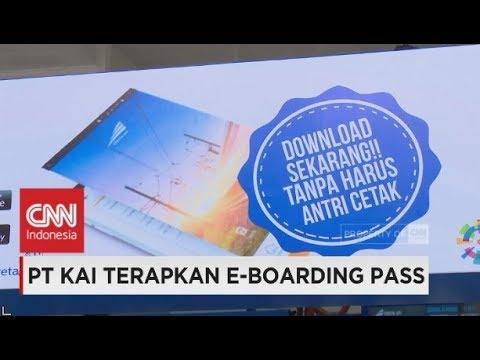 Pt Kai Terapkan E Boarding Pass Youtube