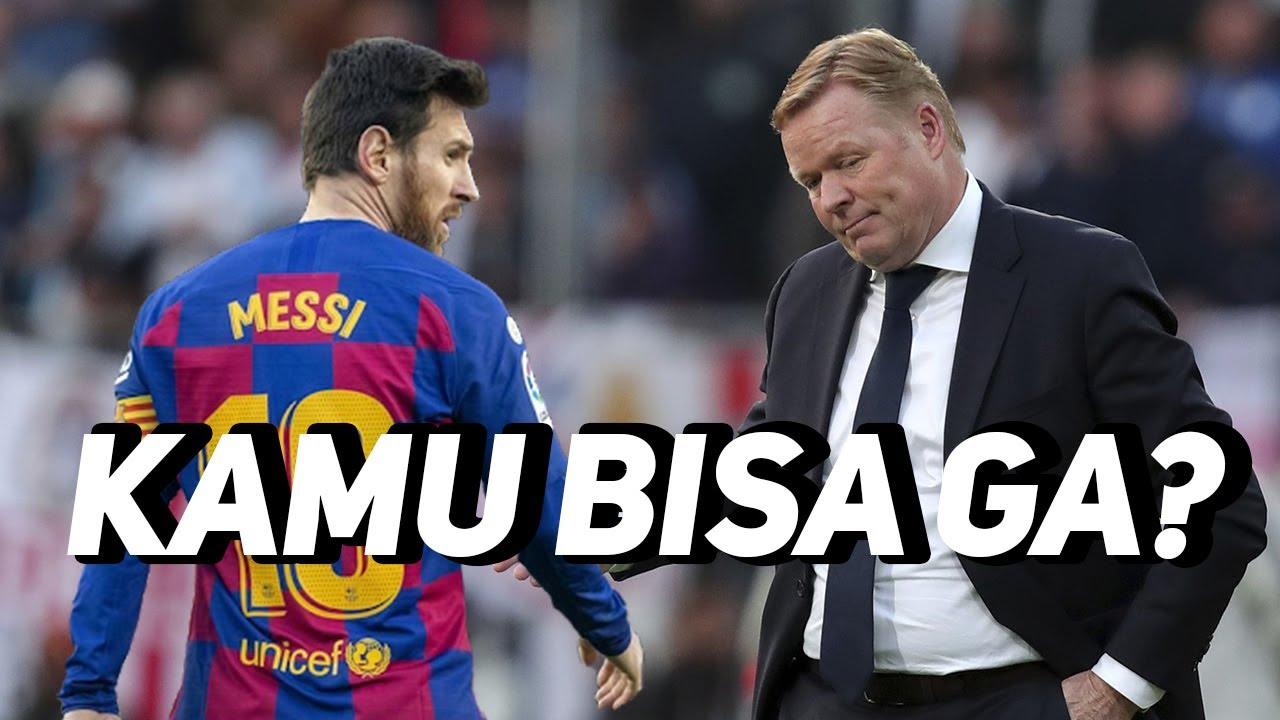 Ngalah Bertahan, Messi Dapat Tantangan Dari Koeman