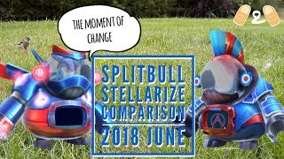 Angry Birds Evolution Angromedon Splitbull vs Stellarize Gameplay June 2018 Comparison
