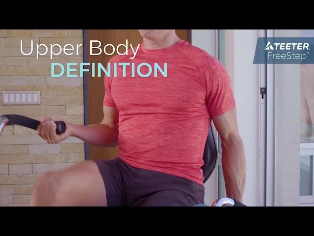 Teeter FreeStep - Muscle Targeting