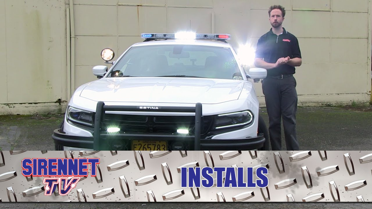 2016 Dodge Charger Patrol Installation - YouTube