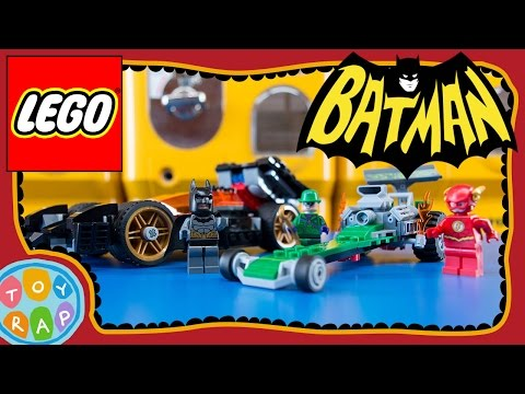 Batman: The Riddler Chase - LEGO DC Heroes Set 76012 - Timelapse Build + Toy Review ToyRap