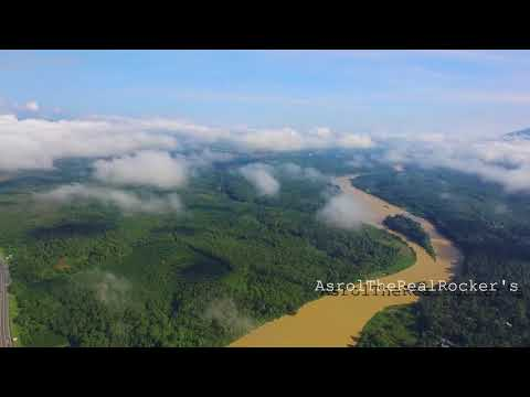 Aerial view r&r sungai perak