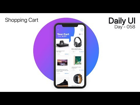Daily UI - Day 058 - Shopping Cart