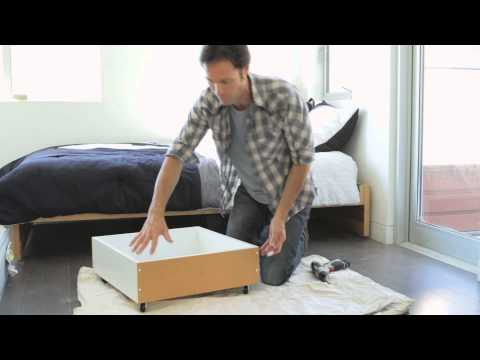 How to Build an Under-the-Bed Storage Box : Home Storage & Organizing