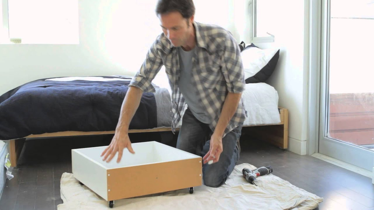 How To Build An Under The Bed Storage Box Home Storage