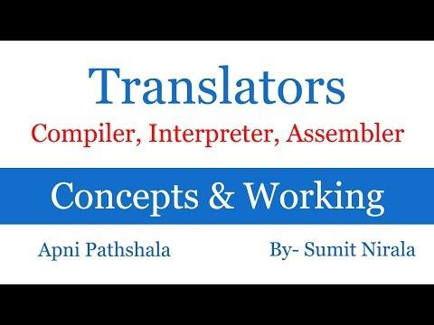 Language translators   Compiler   Interpreter   Assembler