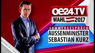 Sebastian Kurz im großen Sommergespräch