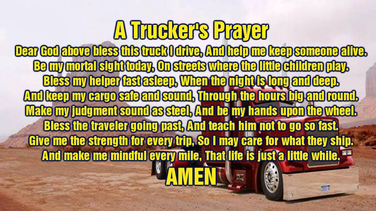 Truckers Prayer Photograph by Waters Edge Photography