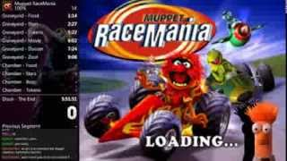 Muppet RaceMania 100% Speed Run World Record in 5:22:08
