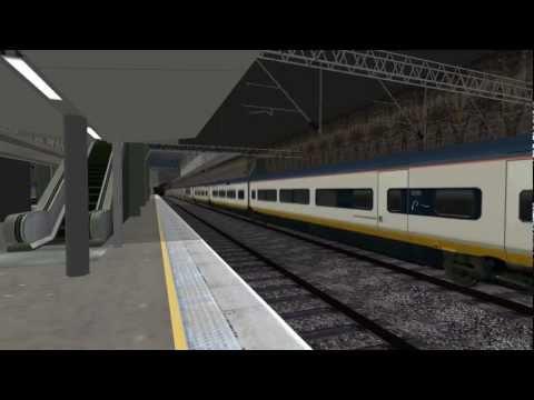 Repeat OpenBVE Eurostar Class 373 - Stratford International