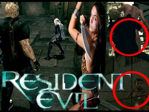 Resident evil секс мод