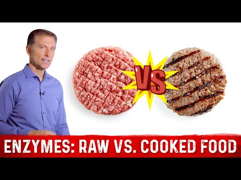 Raw Foods vs. Cooked Foods and Enzymes | Dr.Berg