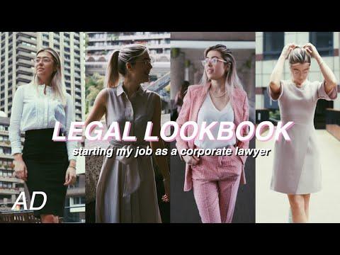my first legal lookbook