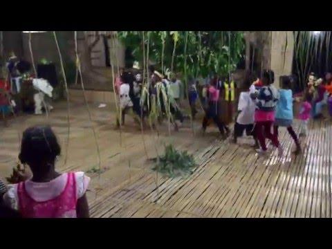 Sewang Dance By Semai  Children Of Pos Tual, Pahang - Malaysia