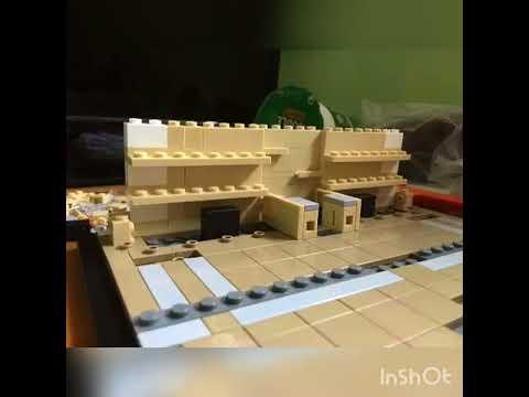 Building a Lego Buckingham palace