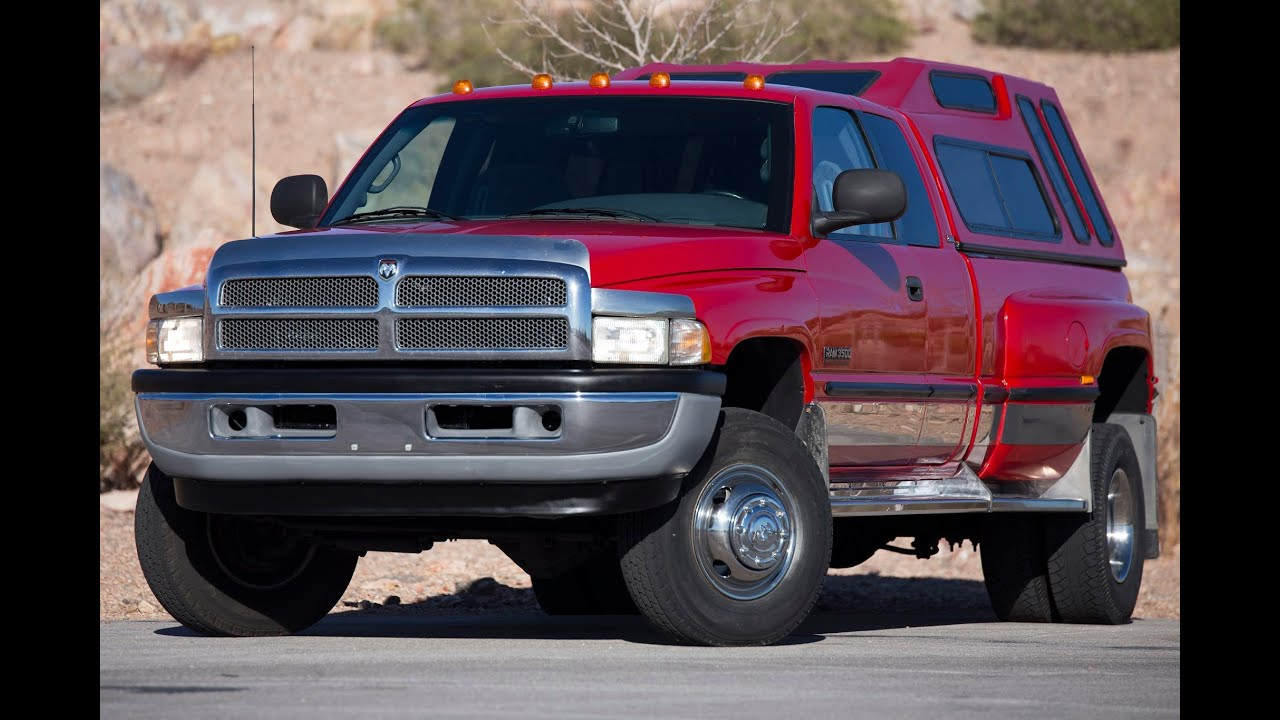 Dodge Ram 3500 Camper >> 1998 DodgeRam 3500 Laramie SLT 4x4 Quad Cab Dually Cummins 12-Valve Turbo-Diesel - Test Drive ...