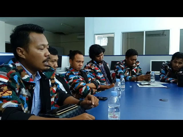 Garda Nusantara Sulbar Kunjungi Radar Sulbar
