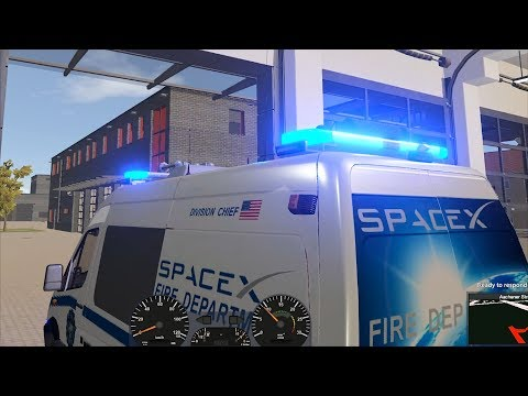 Emergency Call 112 – SpaceX Fire Department Gameplay! 4K