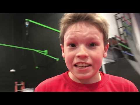 Ninja Kids Teach Me How To Be An American Ninja Warrior Jr.