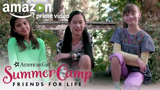 An American Girl Story: Summer Camp, Friends for Life - Teaser Trailer   Prime Video Kids