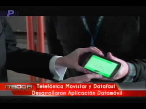 Telefónica Movistar y Datafast Desarrollaron Aplicación Datamóvil