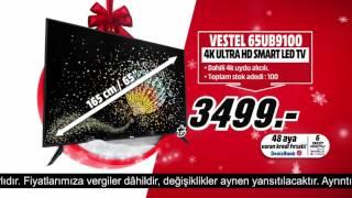 Vestel 25 inç 4K Ultra HD Smart LED TV Yeni Yıla Özel Fırsatla Media Markt'ta!