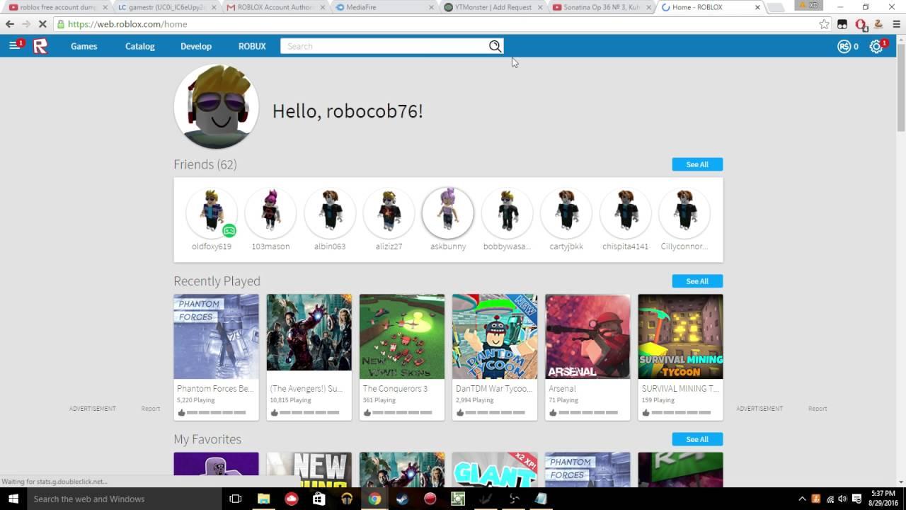 Roblox Account Checker V3rmillion - How To Get 60m Robux