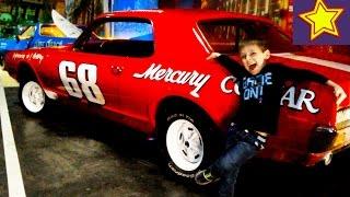 Дети и машины Ретро автомобили с Игорюшей Retro cars for kids