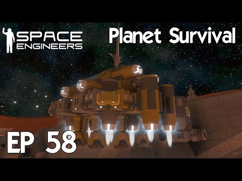 Space Engineers Planets - Ep 58 Larger Hydrogen Tanker