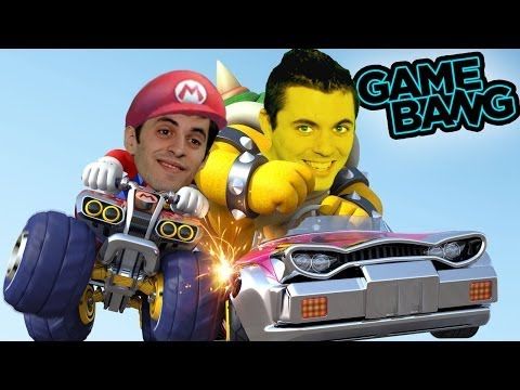DEATH TO MARIO KART BLUE SHELLS! (Game Bang)