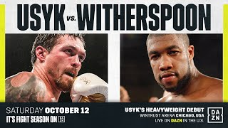 PRESS CONFERENCE | Oleksandr Usyk vs. Chazz Witherspoon