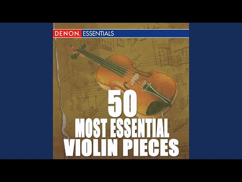 Adagio In E Major For Violin And Orchestra, KV 261