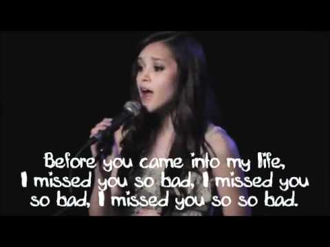 Megan Nicole - Call Me Maybe - Lyrics On Screen + Download Link