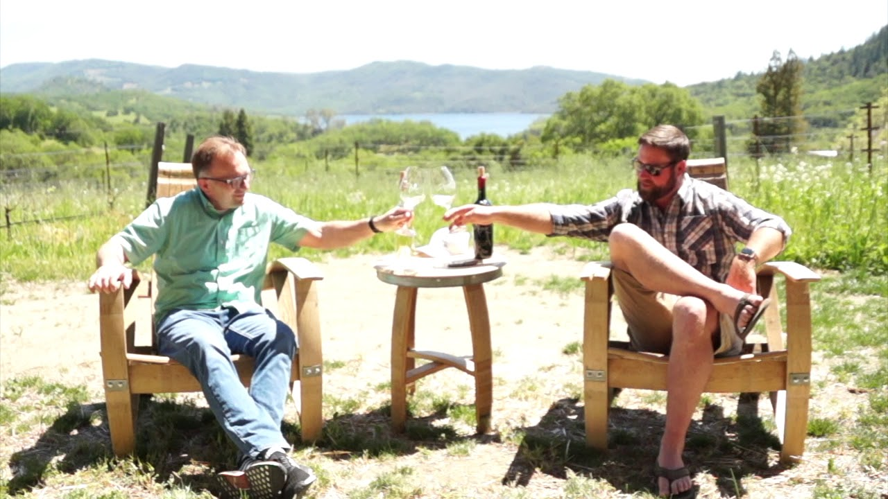 Let's Talk Wine! An Interview With Grant Long of Aonair In The Beautiful Napa Valley!