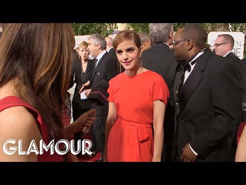 Golden Globes Red Carpet: Celebs Talk Style, Cats & George Clooney