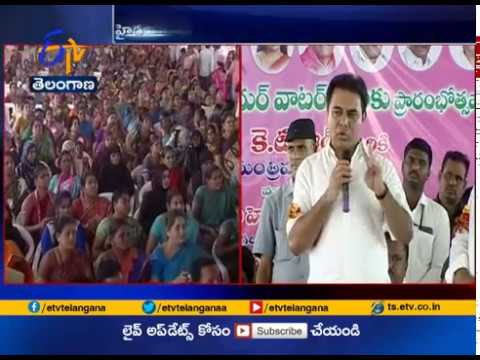 Foundation Stones for Development Works | Laid by Minister KTR at Hyderabad