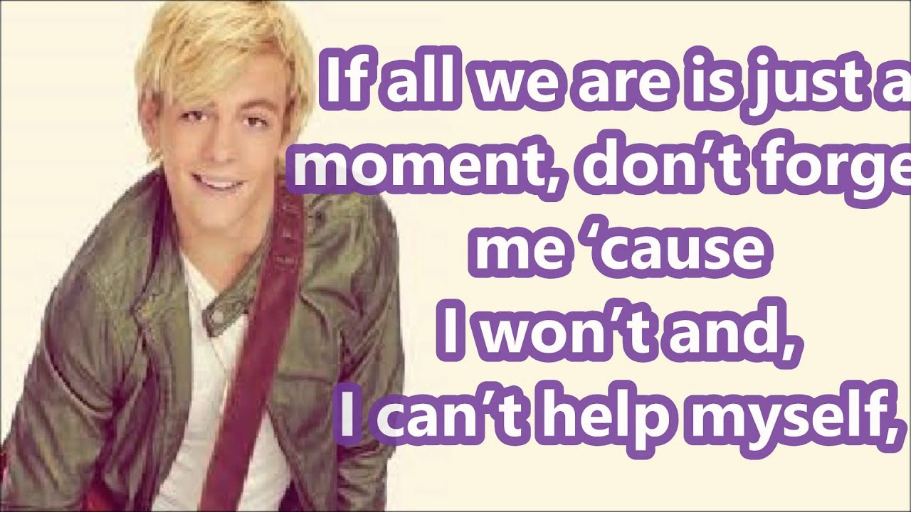 Austin And Ally I Think About You Lyrics Ross Lynch Youtube