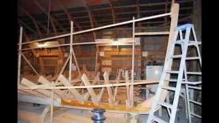 Building Of A Core Sound Style Round Stern Boat Part # 1