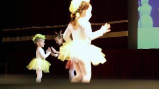 Выступление на фестивале танца в большом концертном зале музея ВОВ