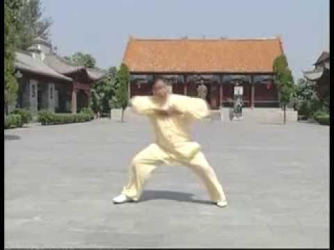 Chen Style Tai Chi 4 basic patterns(Eng sub)-Thái cực quyền 4 thức căn bản